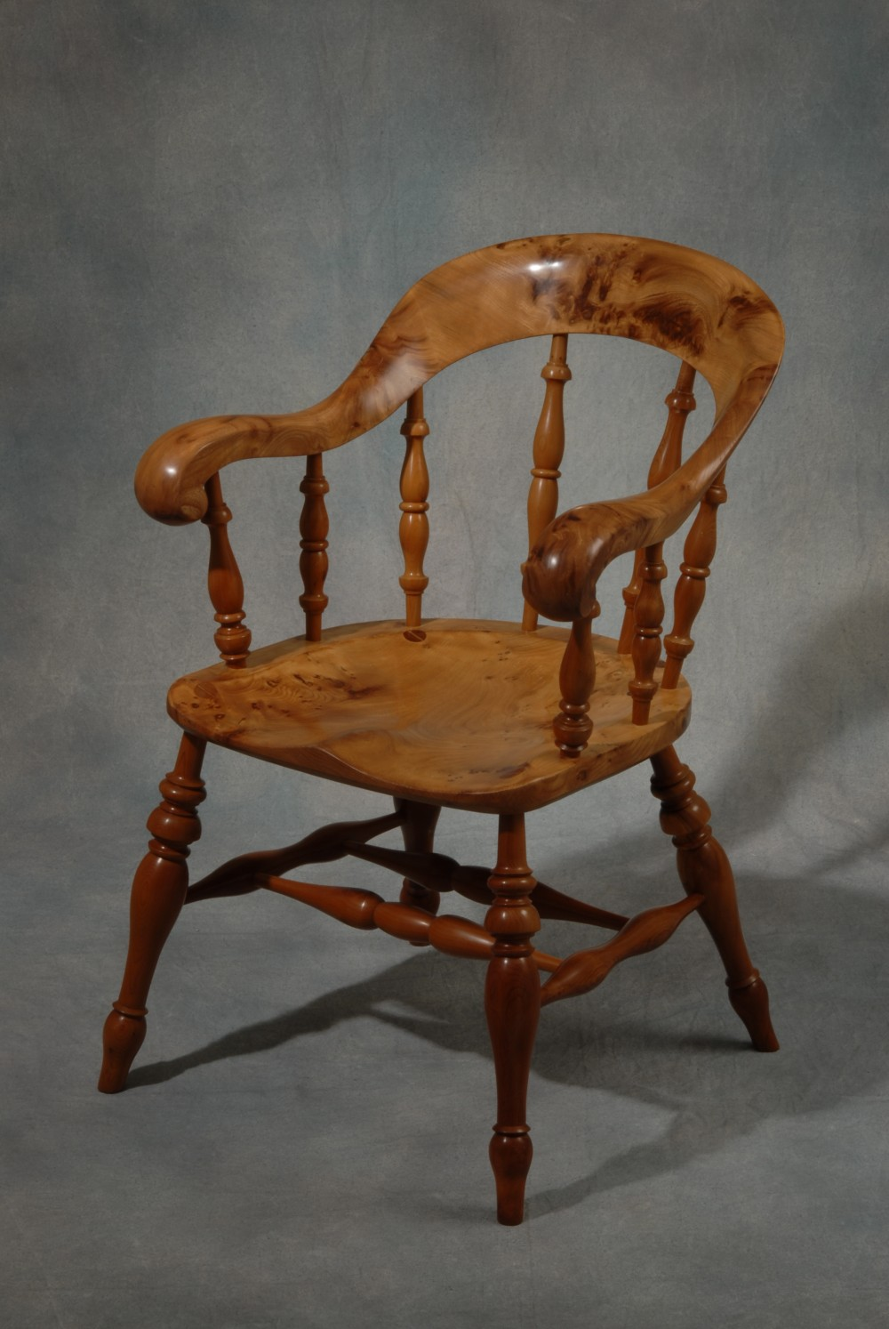 Bergere Bow Armchair