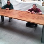 Long Table Two Cabinet M